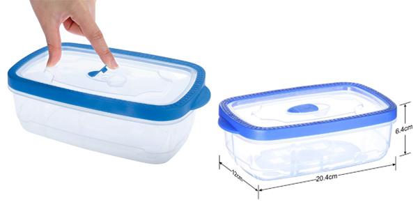 Pack x6 Recipientes MyChoice Snap-On & Seal de 1.000 ml/ud oferta en Amazon