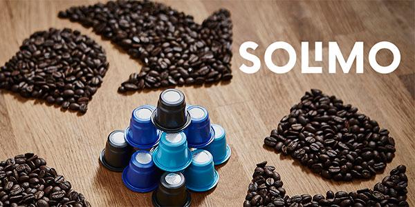 Pack de 96 cápsulas Solimo Latte Macchiato compatible Dolce Gusto barato