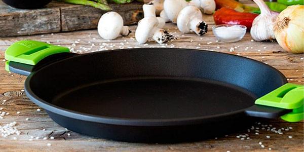 Paellera BRA Prior de 36 cm para cocina inducción oferta en Amazon