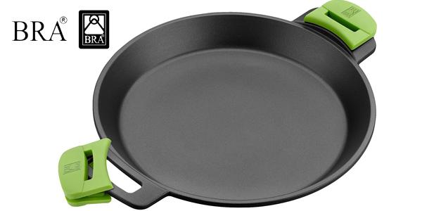 Paellera BRA Prior de 36 cm para cocina inducción barata en Amazon