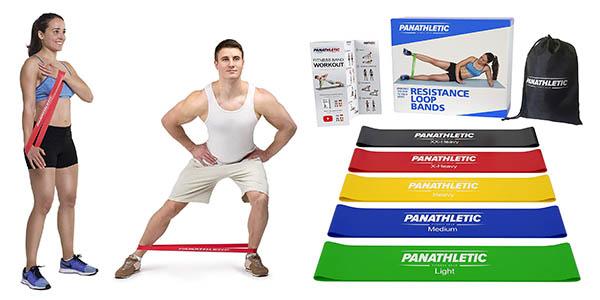 Panathletic bandas elásticas para musculación baratas