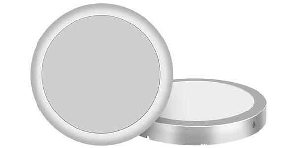 Plafón LED Elfeland de 18W en blanco natural o cálido