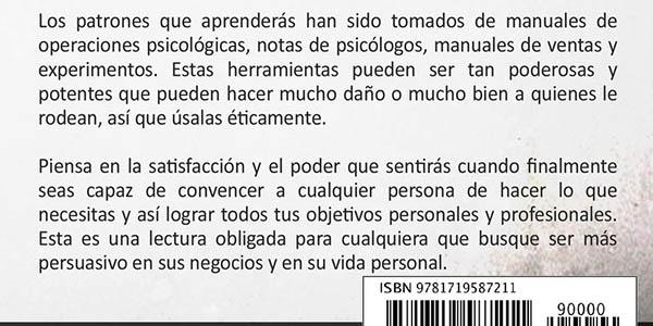 """Libro kindle gratis """"PNL. Técnicas prohibidas de persuasión libro"""""""