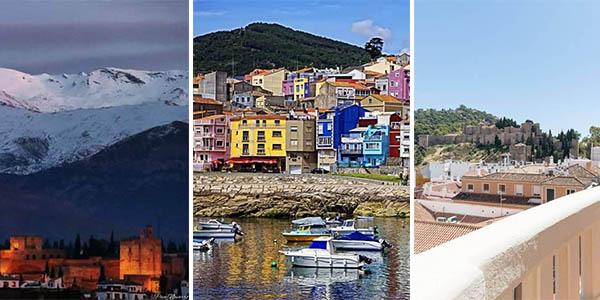 puente de octubre escapadas baratas playa, montaña y ciudad por España