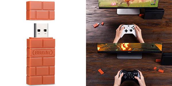 Adaptador mandos xbox para Nintendo Switch