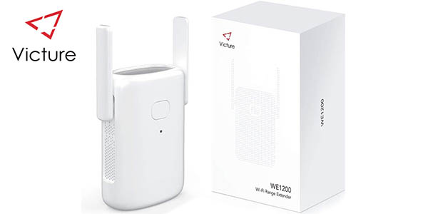 Repetidor WiFi Victure 1200 Mbps con enchufe