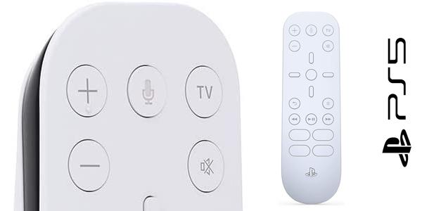 Reserva tu Mando a distancia de medios PS5 en Amazon