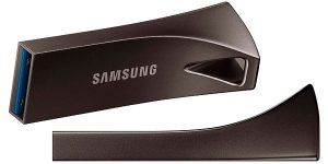 Chollo Pendrive Samsung Bar Plus ultrarrápido de 256 GB