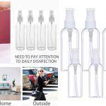 Set x6 Botellas de spray de 50 ml y 100 ml ideales para hidroalcohólico baratas en Amazon