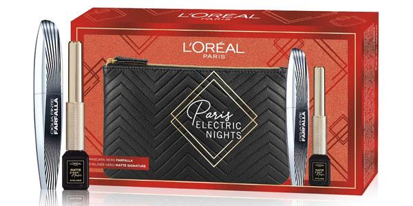 Set de regalo L'Oréal Makeup París Electric Nights barato en Amazon