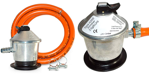 Set S&M Regulador de gas butano y goma de 1,5 m barato
