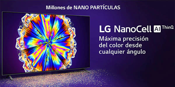 Smart TV LG NANO916 UHD 4K IA