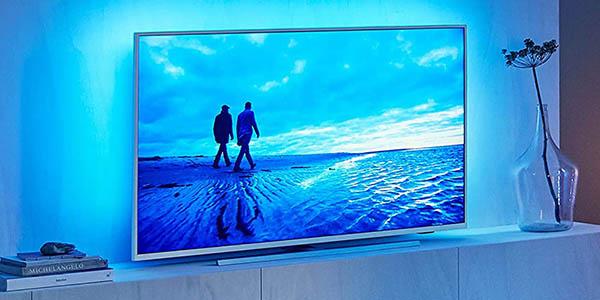 """Smart TV Philips Ambilight 50PUS7354 UHD 4K HDR de 50"""" en Amazon"""
