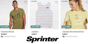 Sprinter segunda unidad promoción marcas Marvel Disney DC Comics