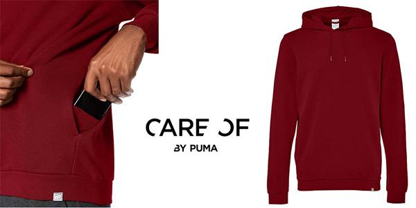 Sudadera con capucha Care of by Puma para hombre chollo en Amazon