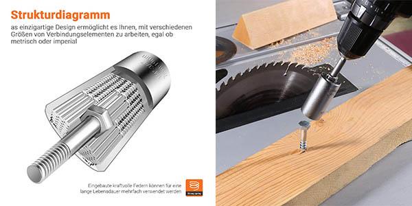Tacklife ASW01A herramienta multifunción para llaves de vaso y carraca universal oferta