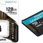 Tarjeta microSD Kingston Canvas Go Plus de 128 GB