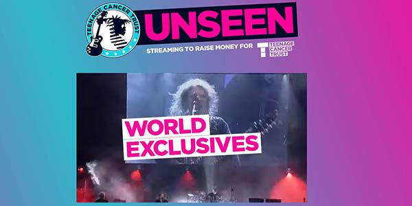 Teenage Cancer Trust conciertos gratis en YouTube