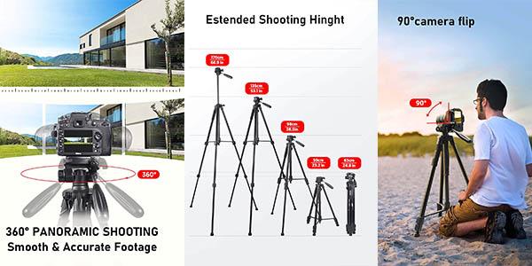 trípode ligero para cámara ESDDI de relación calidad-precio alta