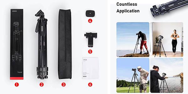 trípode regulable para cámara de fotos ESDDI oferta