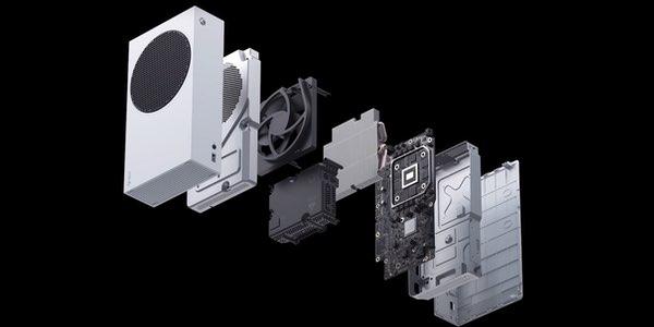 Xbox Series S por dentro