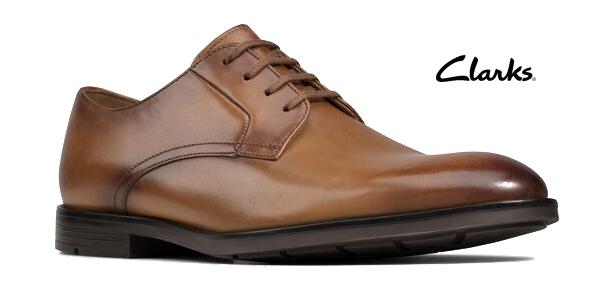 Zapatos de cordones Clarks Ronnie Walk para hombre baratos en Amazon