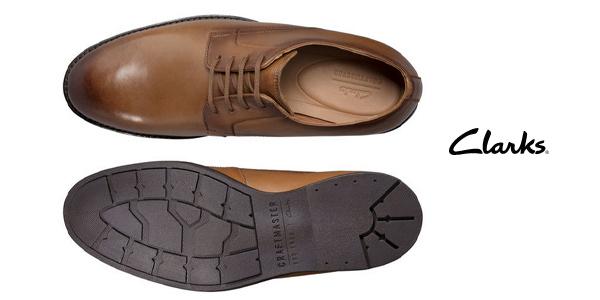 Zapatos de cordones Clarks Ronnie Walk para hombre chollo en Amazon