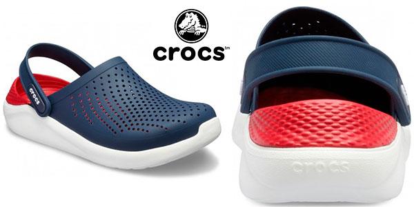 Zuecos Crocs LiteRide Clog unisex para adulto baratos
