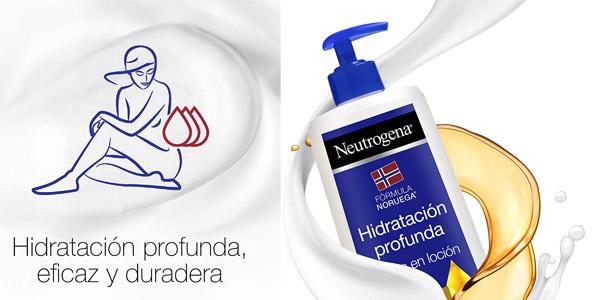 Aceite en Loción Neutrogena Hidratación Profunda Piel Seca de 400 ml chollo en Amazon