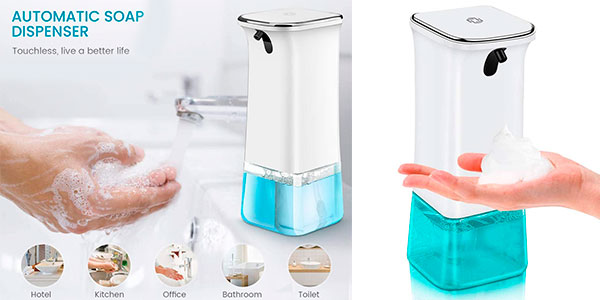 Chollo Dispensador de jabón automático AETKFO de 280 ml