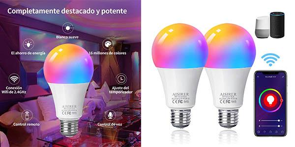 Aisier bombillas LED inteligentes baratas