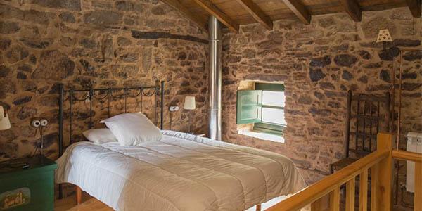 alojamientos de madera y piedra en España para hacer una escapada de desconexión económica