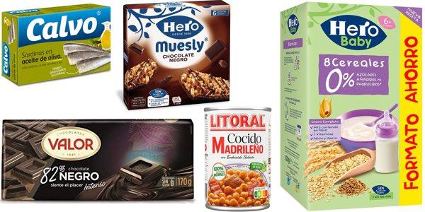 3x2 en productos de alimentación en el supermercado de Amazon