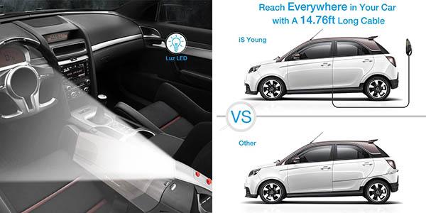 aspirador para el coche isYoung de relación calidad-precio alta