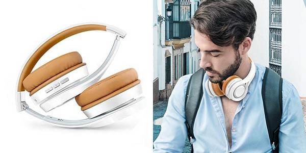 Auriculares de diadema inalámbricos Elegiant Bluetooth 5.0 en Amazon