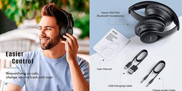 Auriculares Mpow 059 Pro con Bluetooth 5.0 baratos