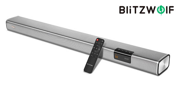 Barra de sonido BlitzWolf BW-SDB2 2.1 de 60W