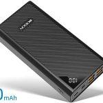 Batería portátil Yobon de 30000 mAh con 4 USB