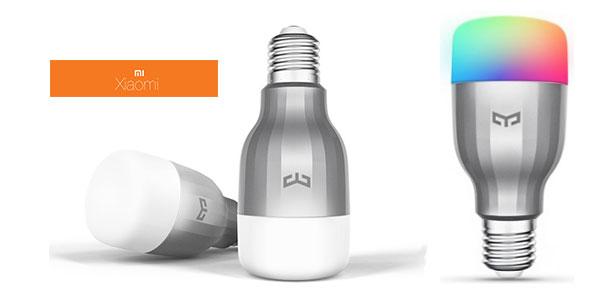 Pack 2x Bombillas Xiaomi Mi LED Smart Bulb RGB en Amazon