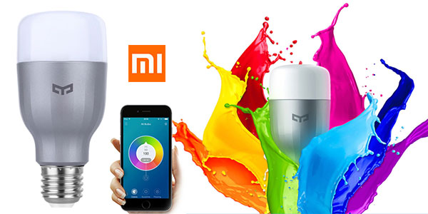 Pack 2x Bombillas Xiaomi Mi LED Smart Bulb RGB