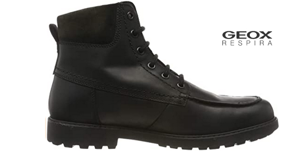 Botas de cordones Geox U Norwolk B para hombre chollo en Amazon