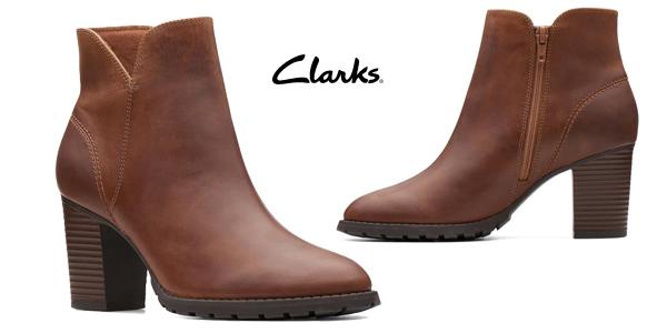 Botas bajas Clarks Verona Trish para mujer baratas en Amazon