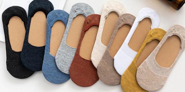 Pack de 5 pares de calcetines invisibles barato