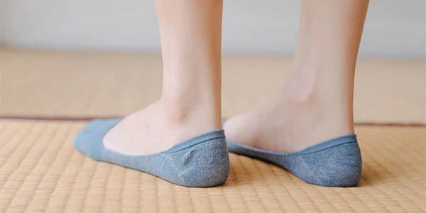 Pack de 5 pares de calcetines invisibles en AliExpress