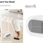 Mini calefactor eléctrico Xiaomi Deerma DEM-NF03 de 250W barato en BangGood