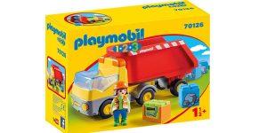 Playmobil 1.2.3 Camión de Construcción barato en Amazon