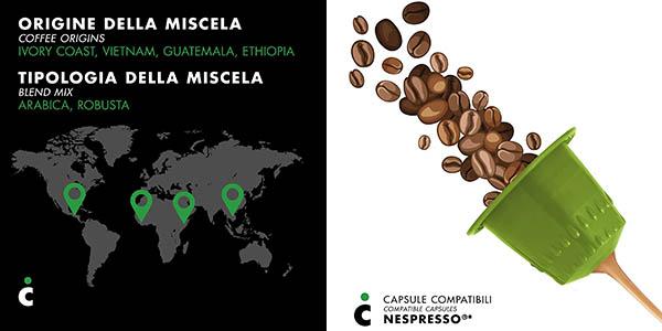 cápsulas de café compatibles con Nespresso Frhome Firenze oferta