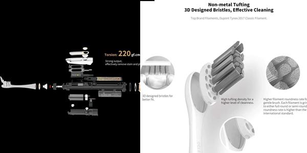 Cepillo de dientes eléctrico Smart Oclean X oferta en Amazon