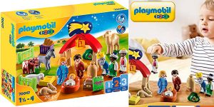 Chollo Belén de Adviento Playmobil 1-2-3 de 26 piezas
