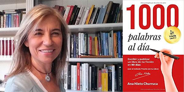 """Chollo Libro """"1000 palabras al día"""" en versión Kindle GRATIS"""